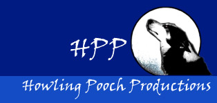 HPP - Howling Pooch Productions. Logo